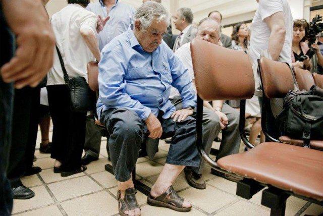 mujica à l'hôpital